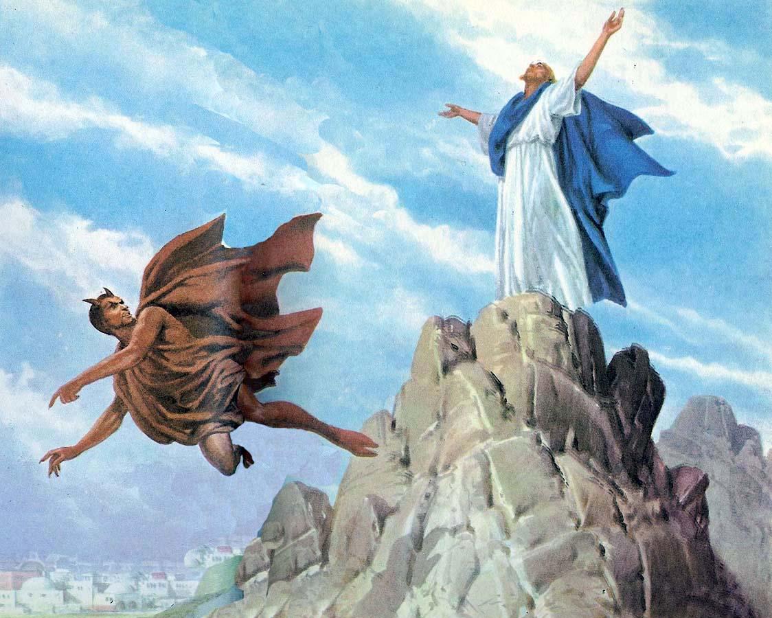 Resultado de imagen para las tentaciones de jesus